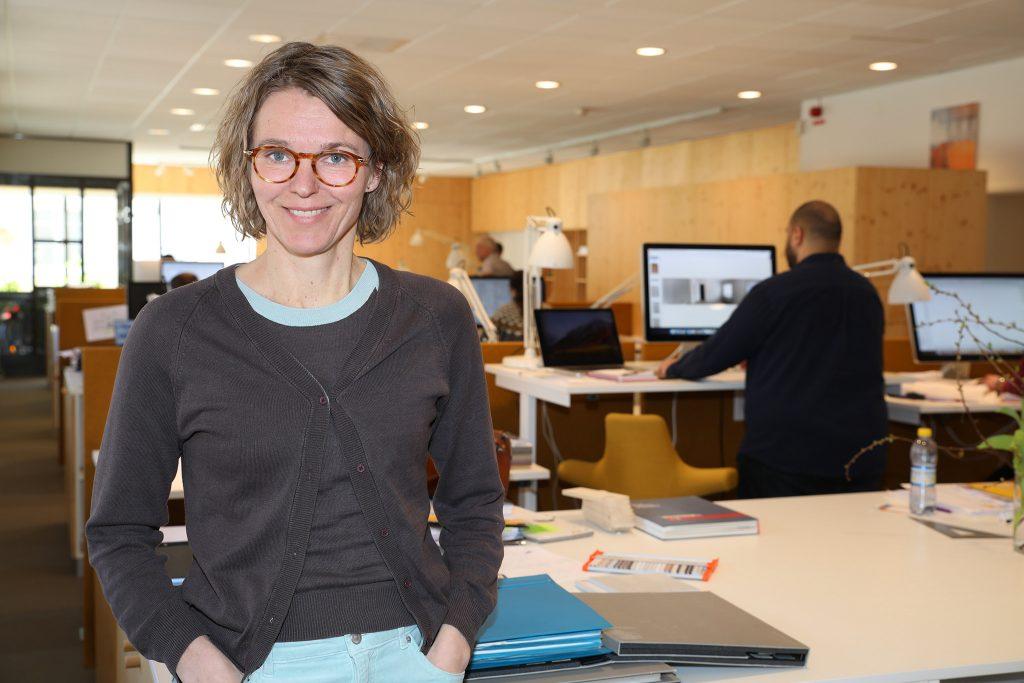 Eva Haraldsson, vd för Arkitektbolaget.