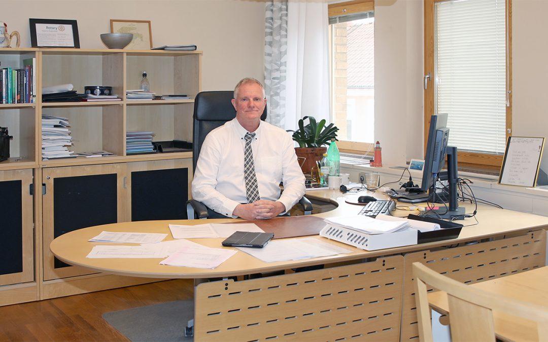 Centrum för ledarskap i Småland intervjuar Jan Darrell, kommunchef, Nybro kommun