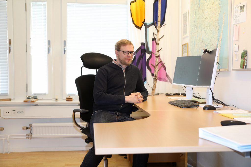 Jerker Bergdahl, distriktschef på Skogsstyrelsen i Kronobergs län.