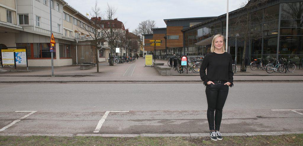 Kajsa Nygren, student Linnéuniversitetet.