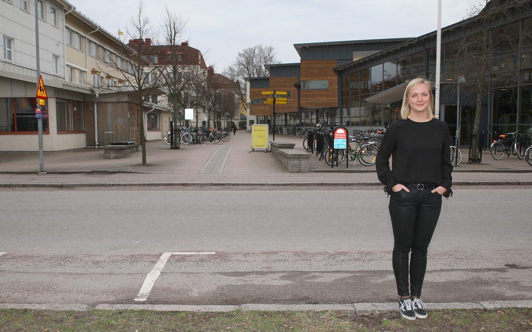 Centrum för ledarskap i Småland intervjuar Kajsa Nygren, student Linnéuniversitetet