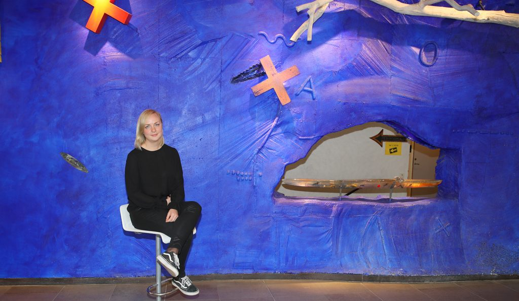 Kajsa Nygren, student Linnéuniversitetet