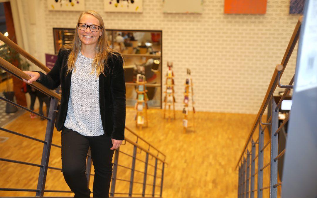 Centrum för ledarskap i Småland intervjuar Malena Tovesson, förbundsdirektör för Höglandsförbundet
