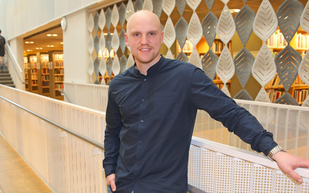Centrum för ledarskap i Småland intervjuar Nils Elf, student vid Linnéuniversitetet