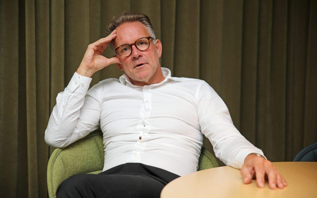 Centrum för ledarskap i Småland intervjuar Patrik Olderius, VD, destination Jönköping