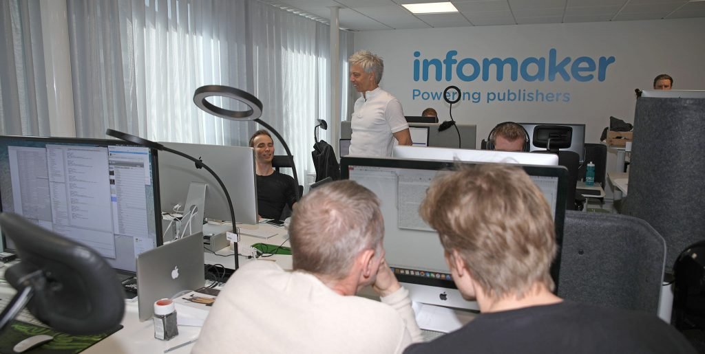 Peter Månsson, CTO, CPO och evangelist på Infomaker Scandinavia AB