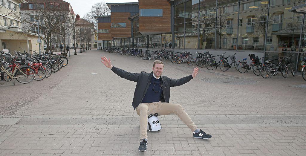 Sebastian Persson, export manager på Viking Toys AB i Torsås.