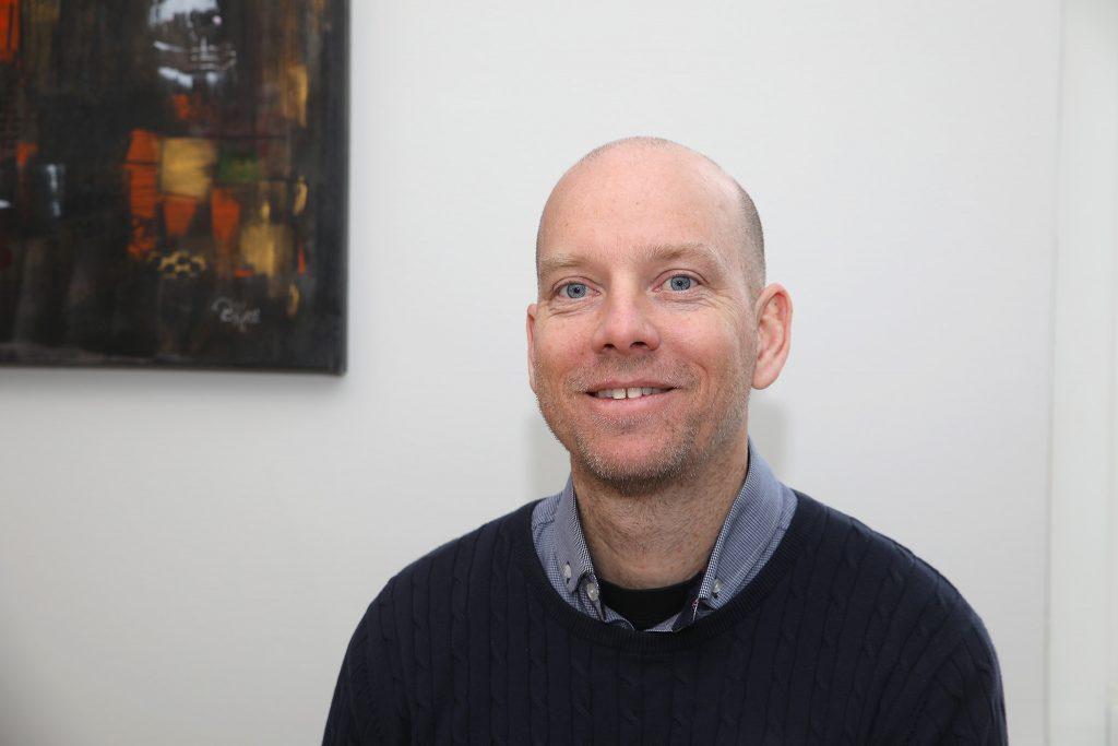 Tomas Lindh, rektor på Sörabyskolan i Rottne