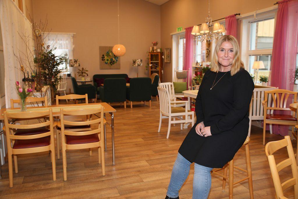 Suzanne Madar Örkenrud, enhetschef på Sörgården i Rottne.
