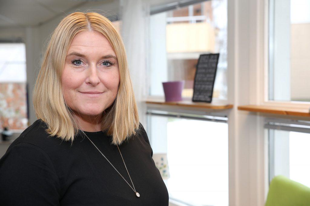Suzanne Madar Örkenrud, enhetschef på Sörgården i Rottne