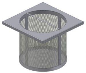 Viverk filterkorg.