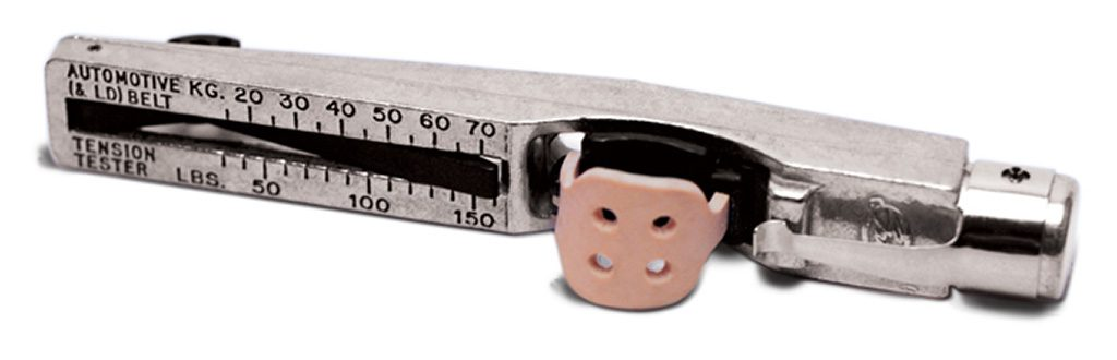 Gates Kritik V-Belt Tension Gauge är ett smart verktyg som gör det enkelt att kontrollera drivremmens spänning som bör vara mellan 25-75 kg. Pris: 295 kr
