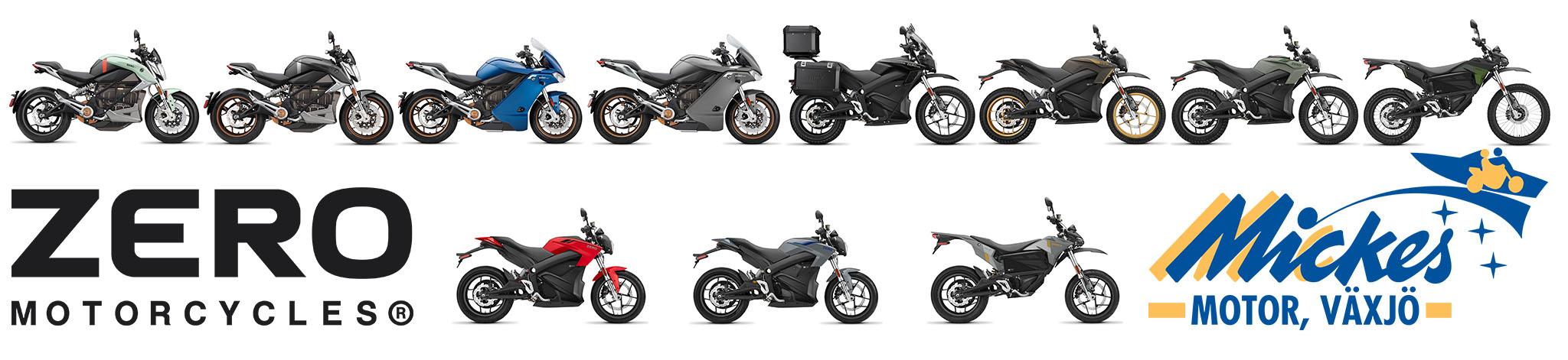 Frejfaxe är importör och återförsäljare av Zero Motorcycles elmotorcyklar i samarbete med Mickes Motor i Växjö.